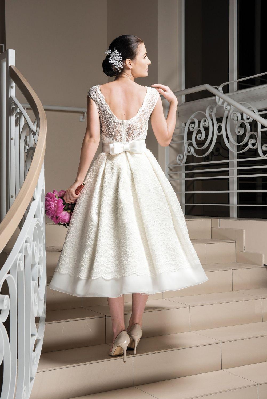 Rockabilly Brautkleid Hochzeitskleid Maßgeschneidert