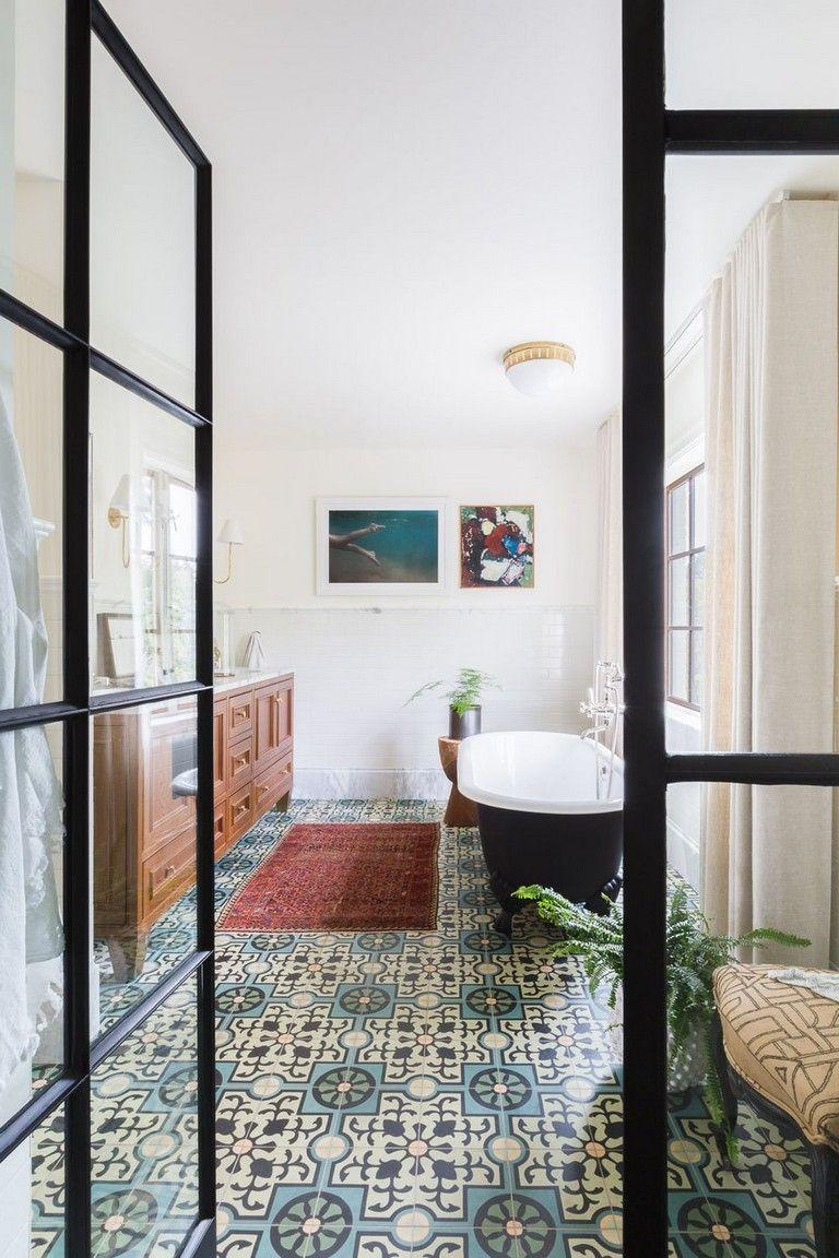 30+ Cool Bathroom Tile Ideas #bathroomdecor #bathroomdecorideas ...
