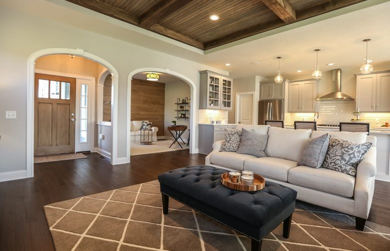 Simple interior archway openings in modern farmhouse style home archways homes wood arch also pin by rose on rh pinterest