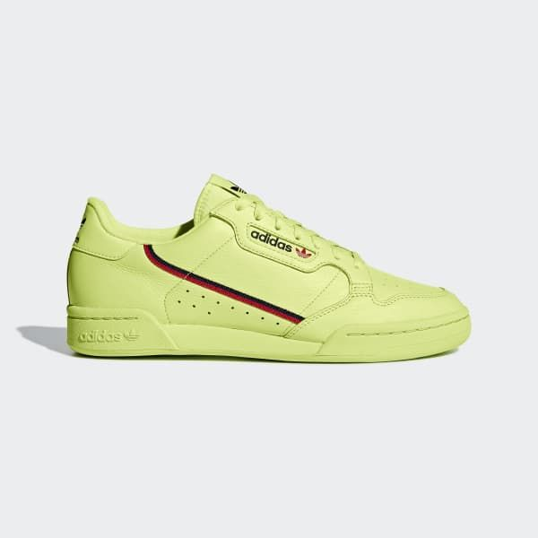 e59b26d44ebcd adidas Continental 80 Shoes - Yellow