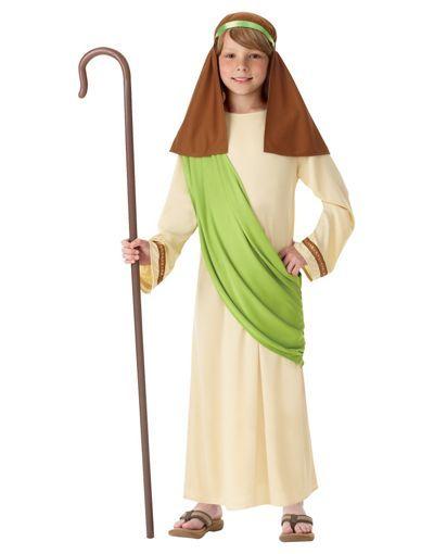Boys Shepherd Costume Disfraz De Pastora Disfraces Bíblicos Traje De Pastor