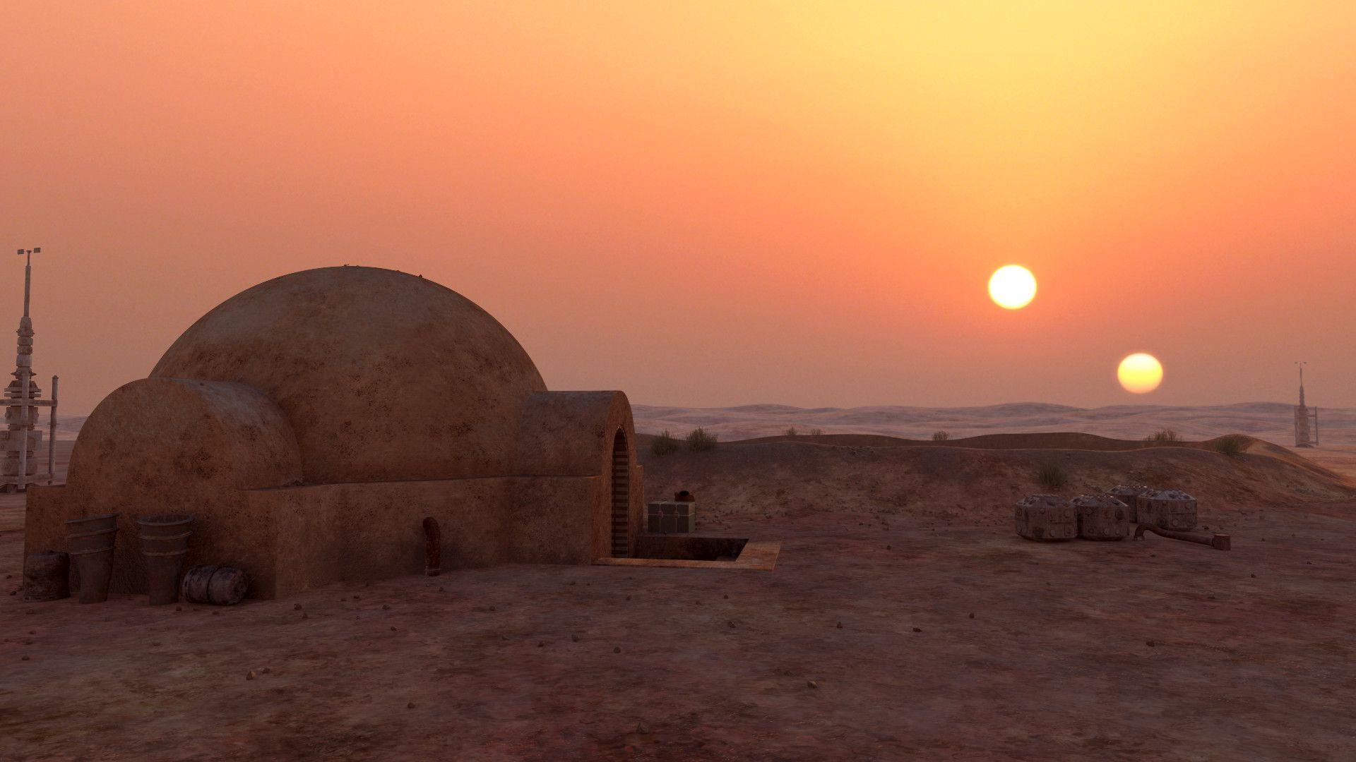 35 Tatooine Wallpapers Download At Wallpaperbro Star Wars Background Star Wars Planets Star Wars Wallpaper