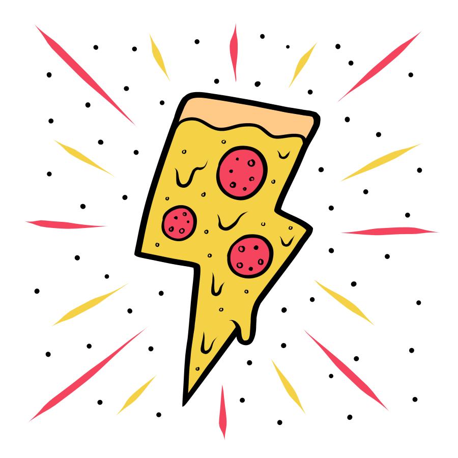 Mellow Yellow Lyon 6Ème Lyon pizzzzzaaaaaaaaaaaaa | pizza tattoo, pizza art, pizza design