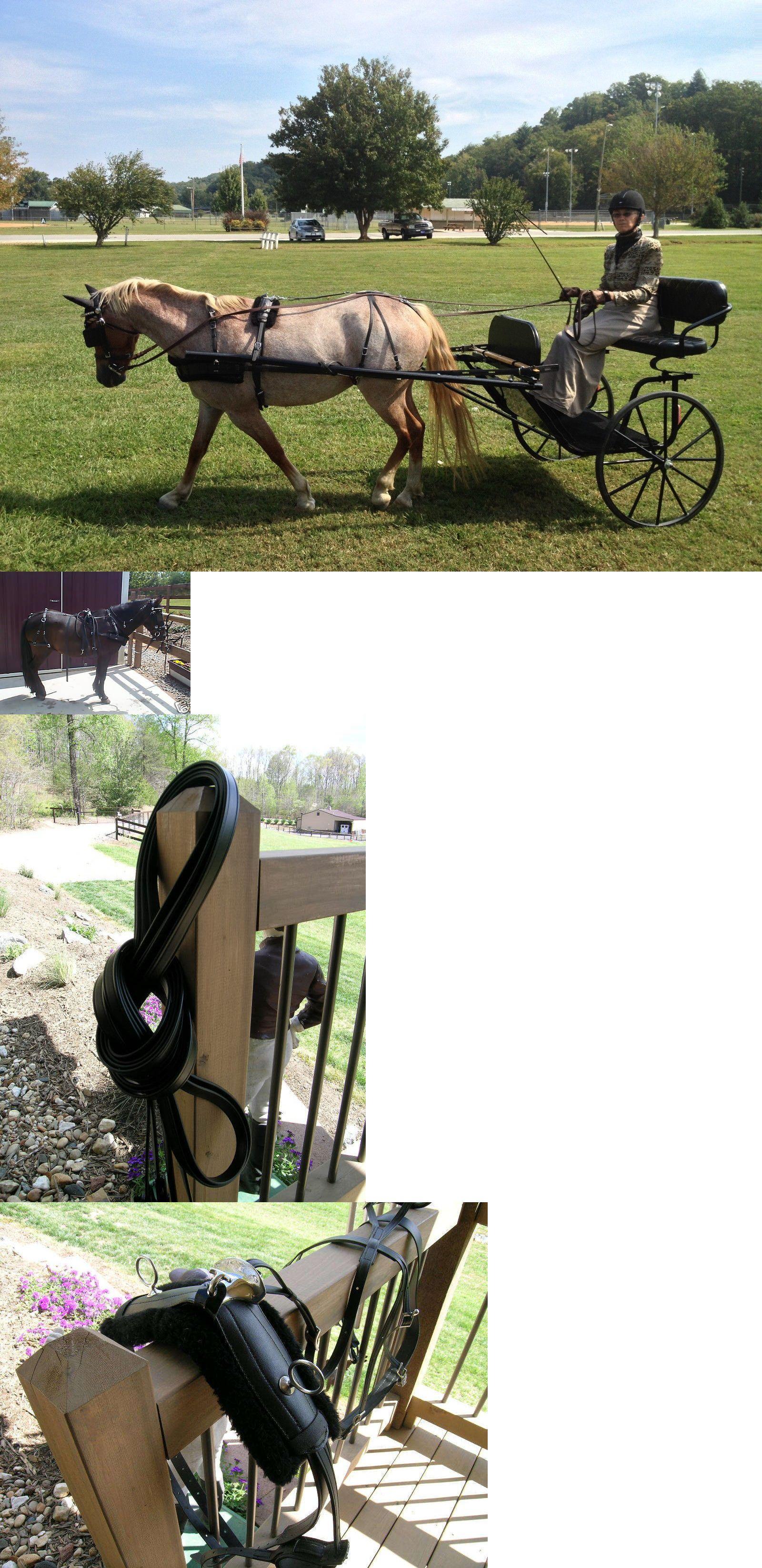 medium resolution of driving equipment 85178 biothane large pony harness stainless hardware new