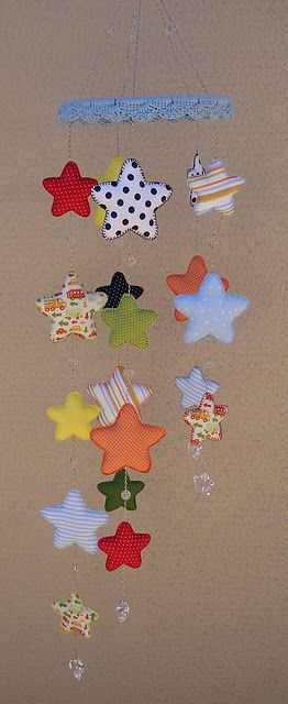star mobile, different top but cute idea!