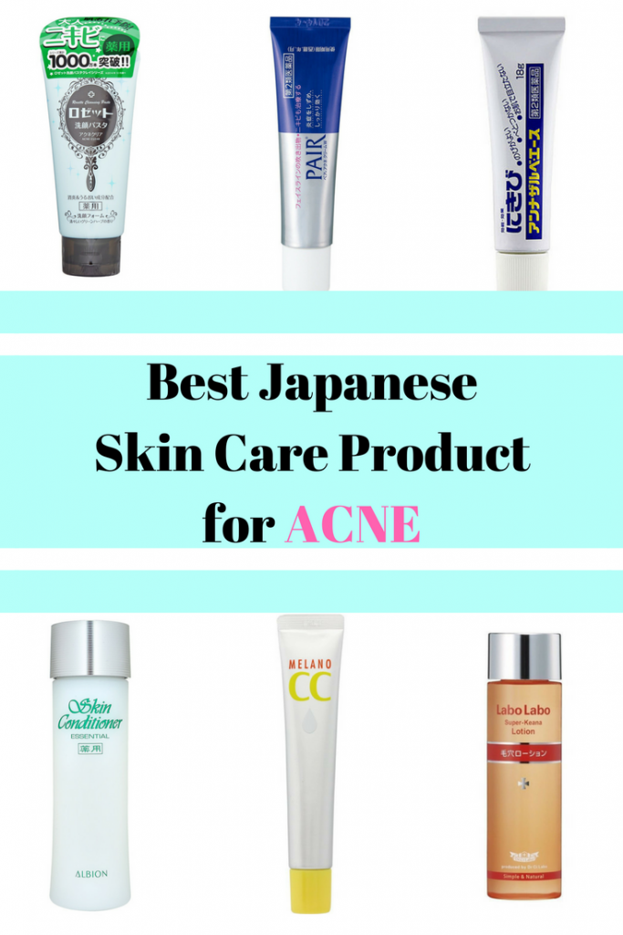 The 6 Best Japanese Skin Care Products For Acne Products Skin