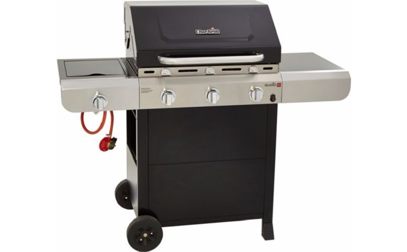 Gas barbecue grill 3 burner bbq tru infrared patio outdoor