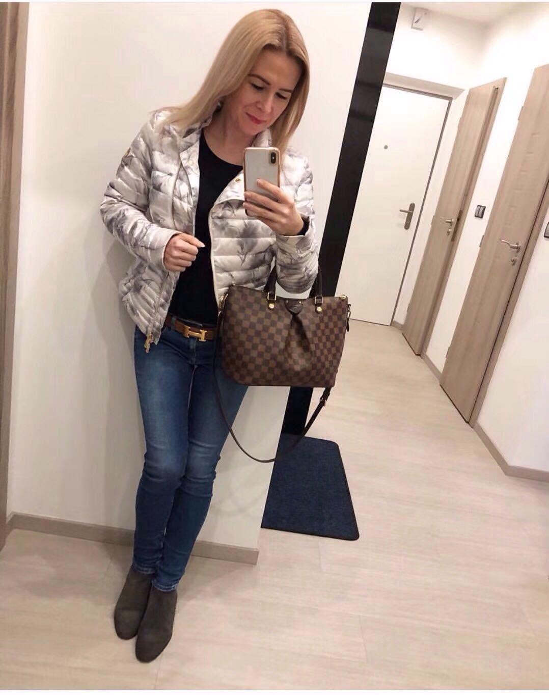 0c1aaccd2e Louis Vuitton Siena MM Bag N41546 Coffee | Louis Vuitton in 2019 ...