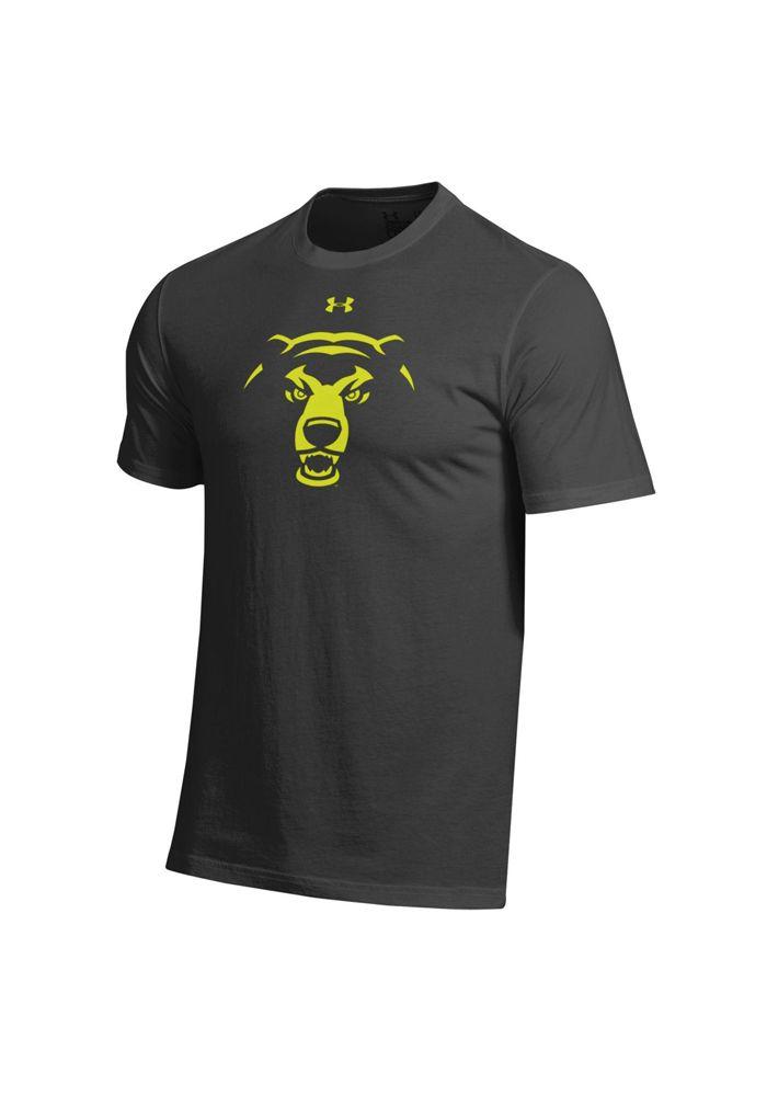 BLACKOUT GAME: Baylor Bears T Shirt Black Baylor Outline