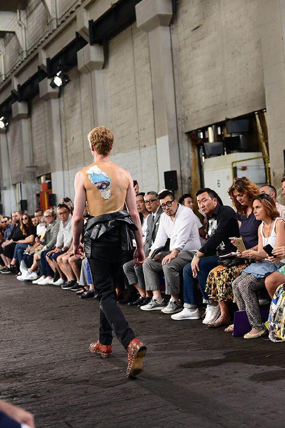 Maison Margiela Men's Spring Summer 2016 Friday, 26th June 2015 11H00 Ground Control, 18 rue Ordener Paris ▷shop online on ANTONIOLI.EU