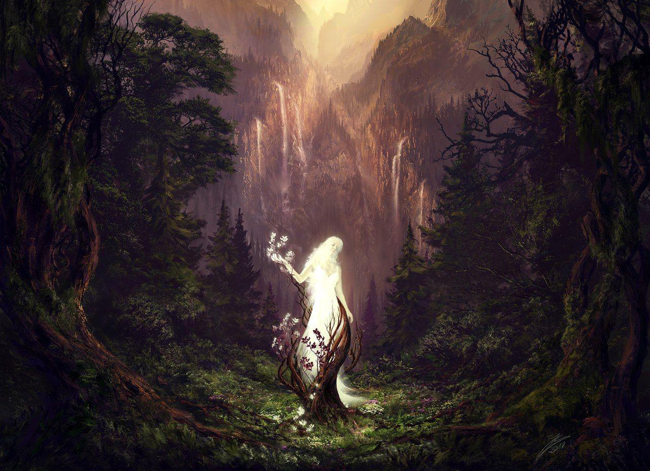 Картинки духов фэнтези