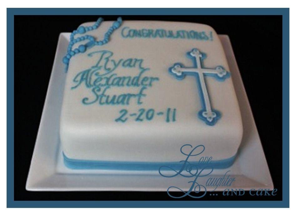 Baptism Cross Cakes for Girls | Christening Cake | Love, Laughter and Cake