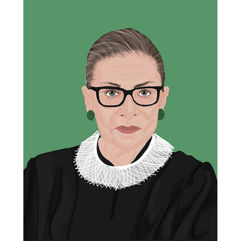 RBG Art Print Paper Source Art prints, Rbg, Shop art