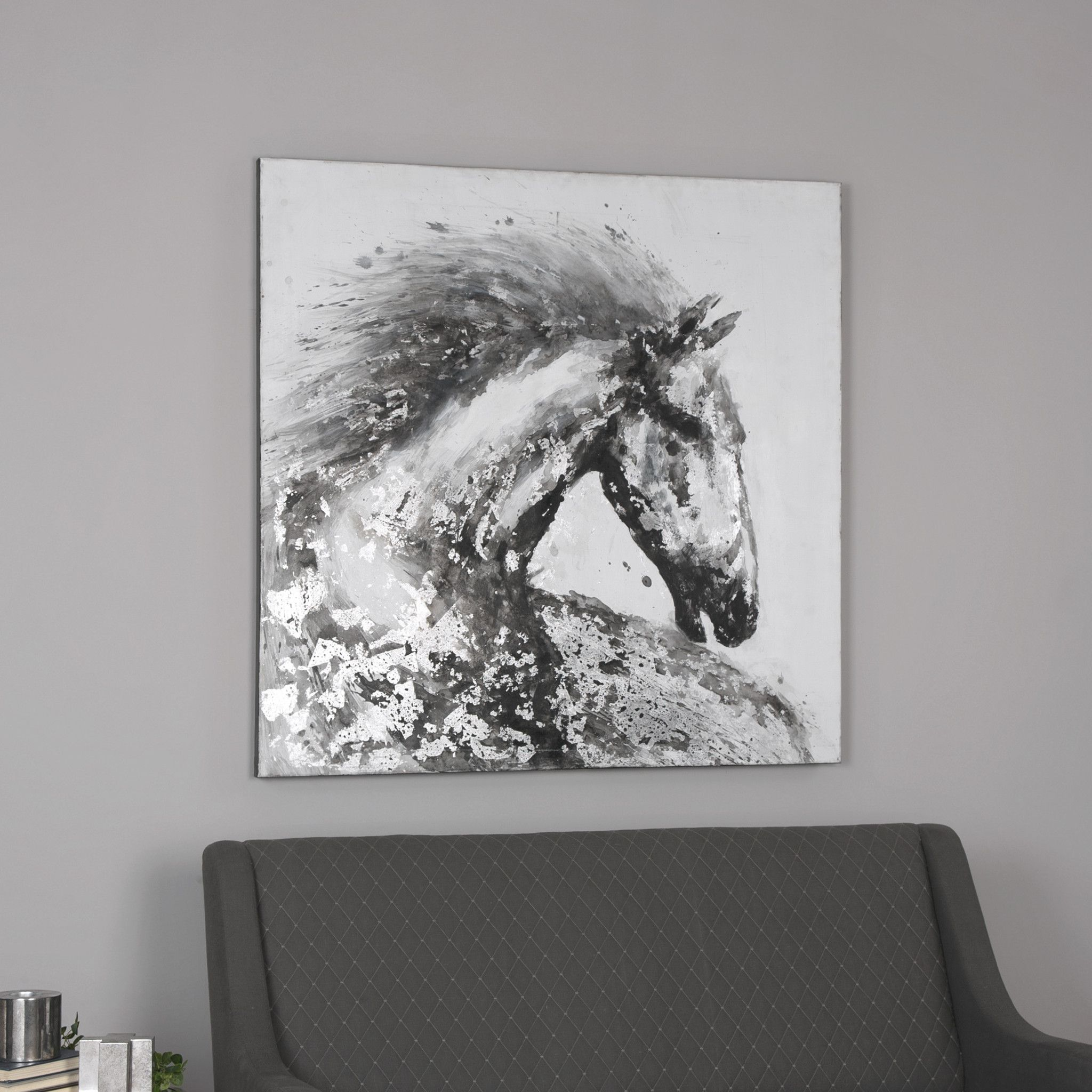 Uttermost Proud Friend Horse Art