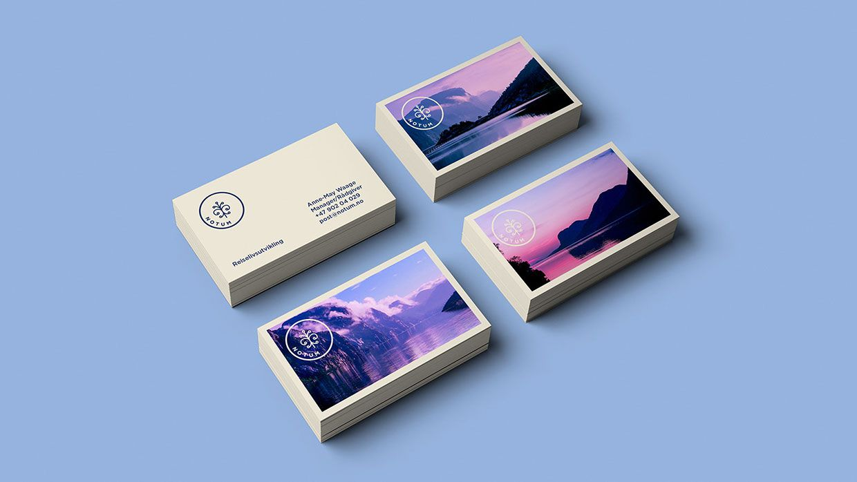 Branding for Notum, a tour operator and travel consultancy company in Norway by Daniel Brokstad