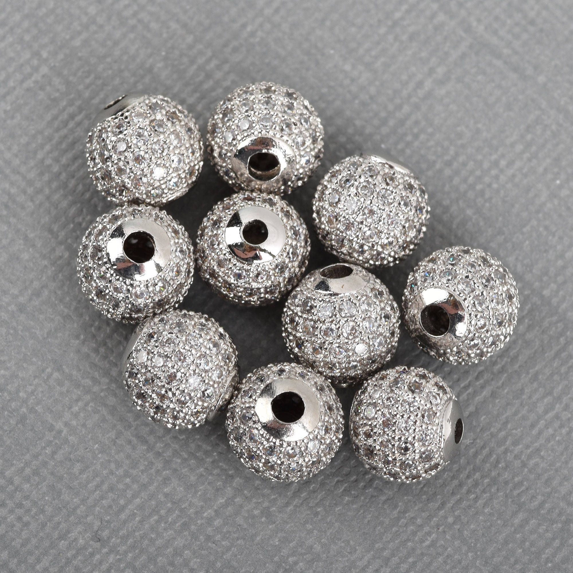 20 Tibetan Silver 10mm Disc Spacer Beads Jewellery Making