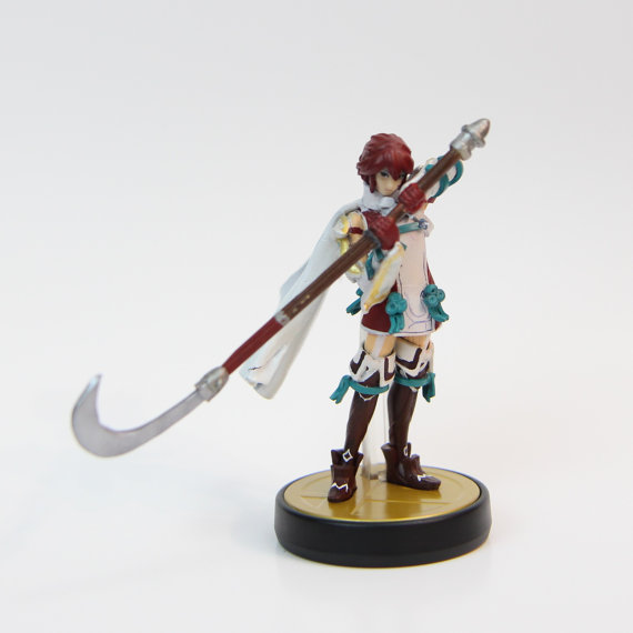 Hinoka Fire Emblem Fates Birthright Custom Amiibo by akshop08
