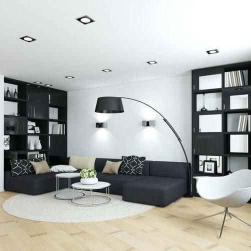 30 Black White Living Rooms That Work Their Monochrome Magic: 28+What Needs To Be Done About Black And White Living Room