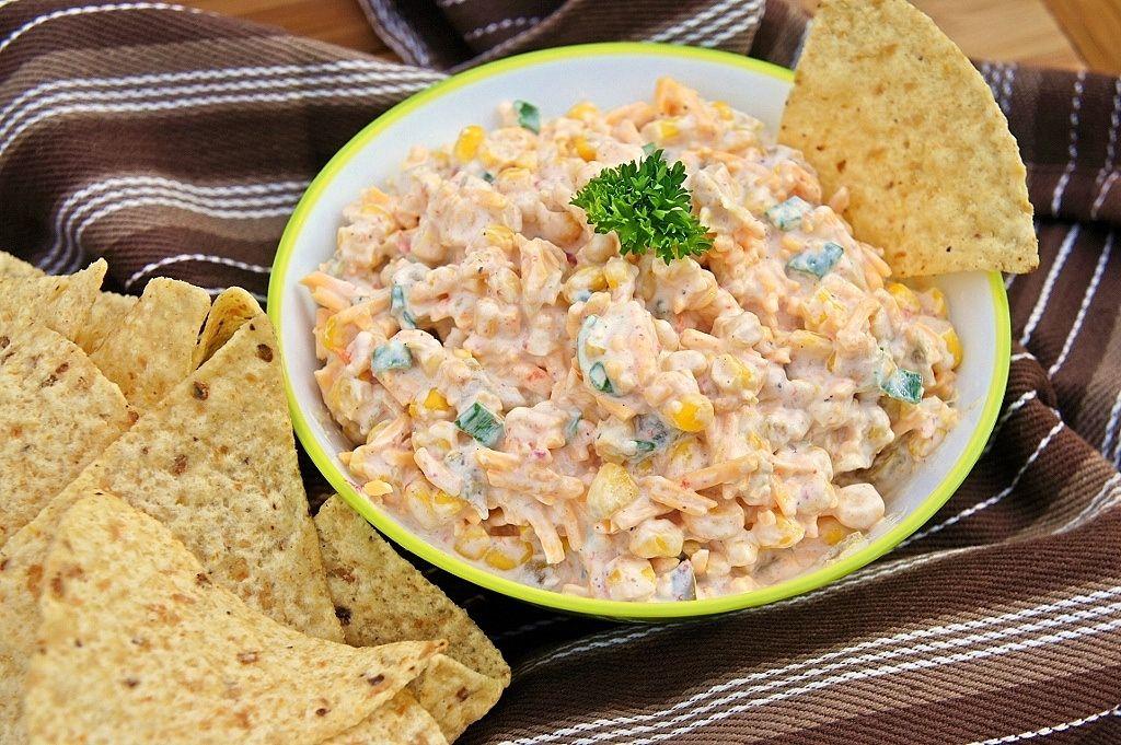 ... corn cowboys garlic powder green onions cheddar cheese sour cream