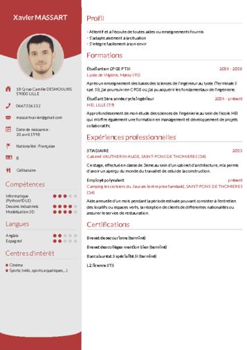 Telecharger Cv Wizard Cv En Ligne Modele De Cv Professionnel Faire Un Cv