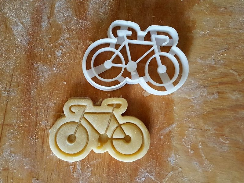 Cookie Cutters – Bicycle Cookie Cutter – a unique product by Protonik on DaWanda