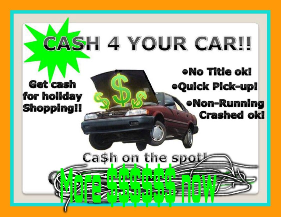 Homepage Cash for Scrap Cars Atlanta We pay cash for