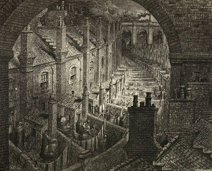 Houses of the industrial revolution industrial for Victorian house facts