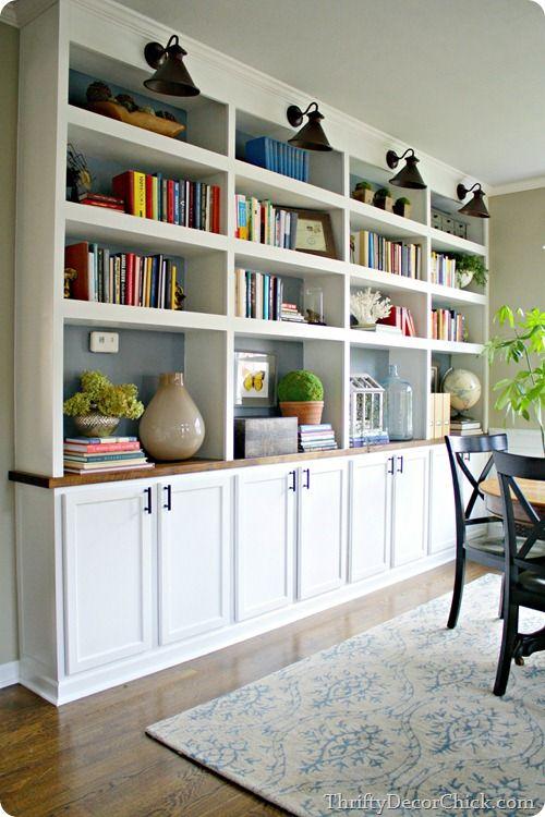 Dining Room Built Ins Built In Bookcase Home Bookshelves Built In