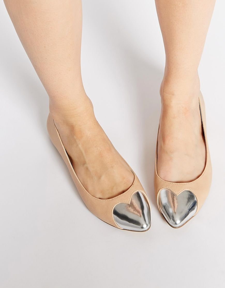 Buy Women Shoes / Asos Long For Pointed Ballet Flats