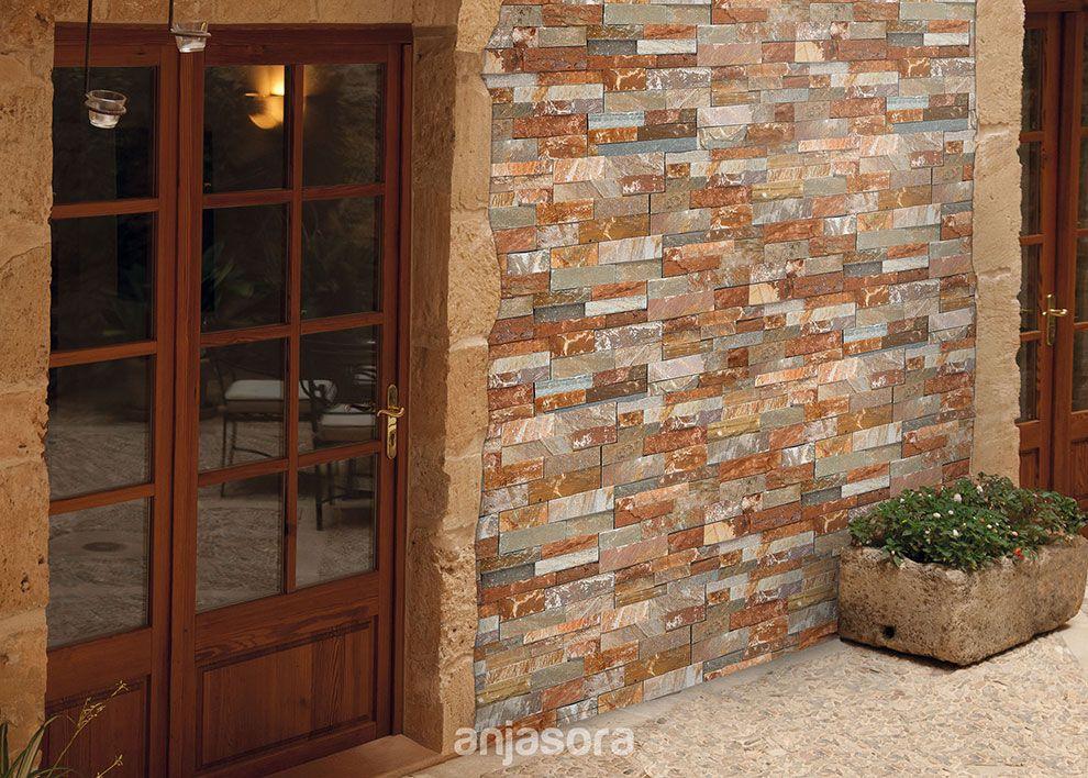 Nuevas ideas para decorar con piedra cada ambiente de tu for Casa villa decoracion exterior fachada