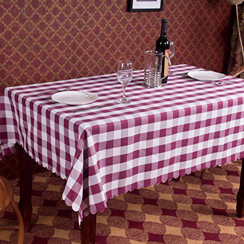 hotels tablecloth rural lattice tablecloth restaurant restaurant