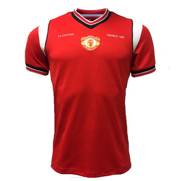 adidas Manchester United Originals 1985 Home Soccer Jersey