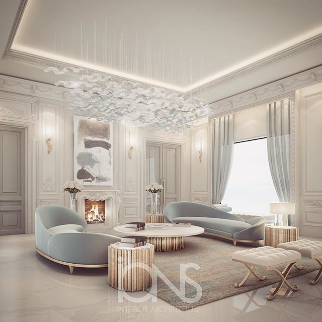 Luxury Home Interior Design Living Rooms: Lounge Design • Private Palace • Abu Dhabi • #الدوحه #doha
