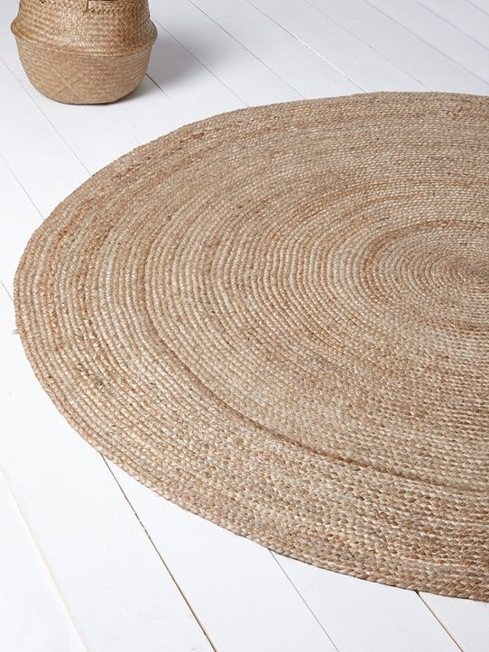 tapis en jute naturel home pinterest tapis en jute jute et tapis. Black Bedroom Furniture Sets. Home Design Ideas