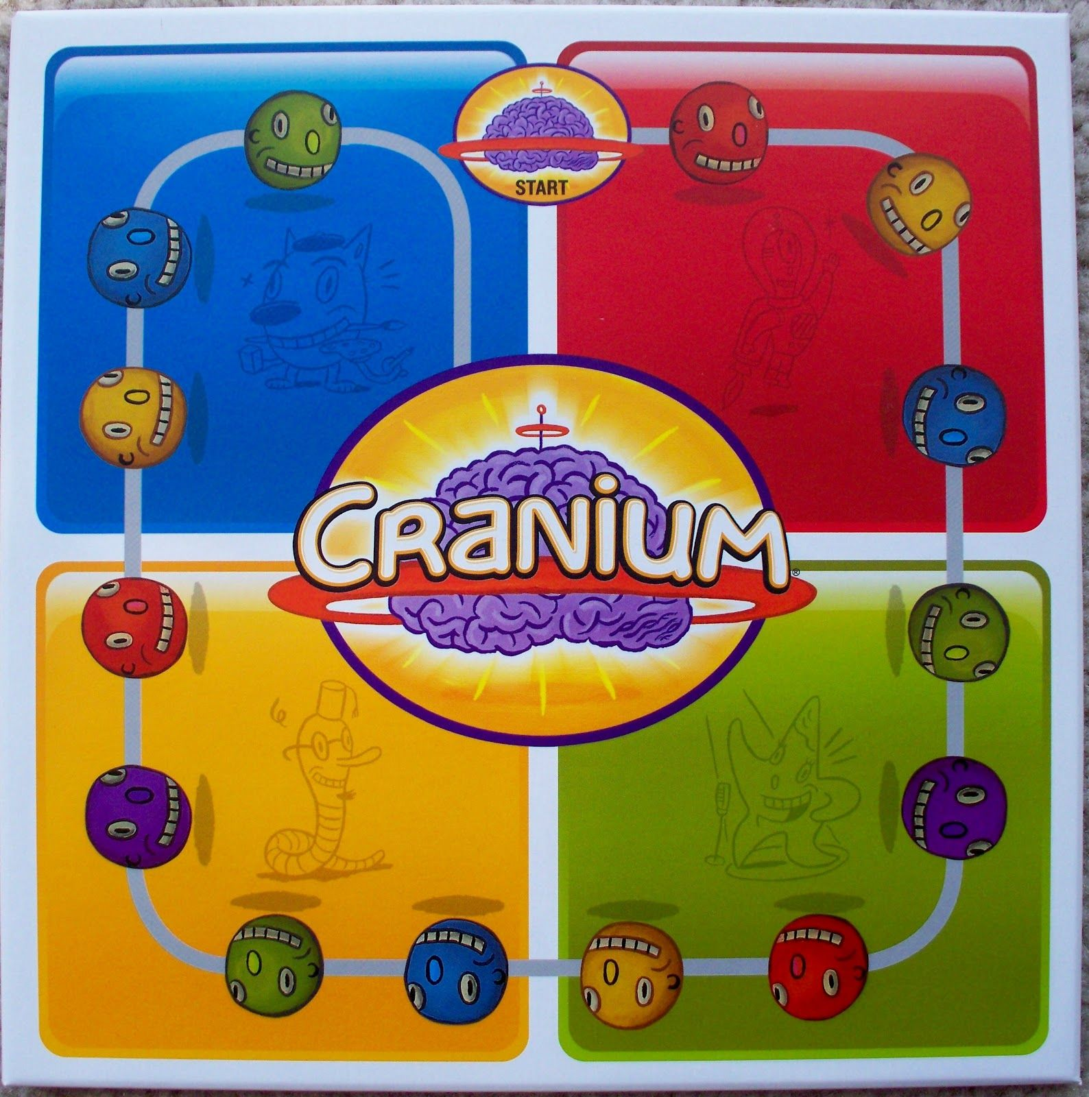 Image result for cranium data head Cranium board game