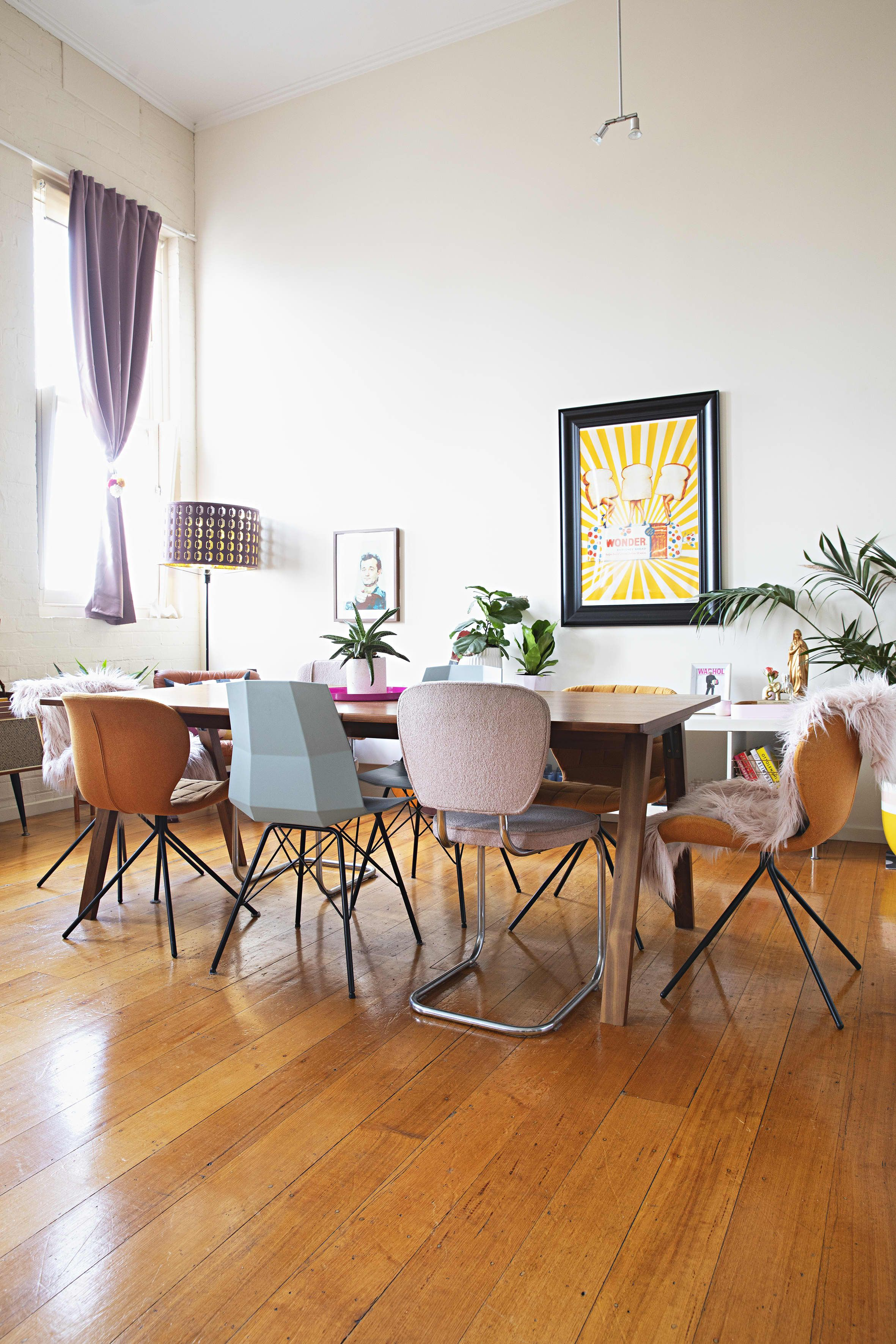 This Melbourne Rental Home Is Fun and Pastel Colored