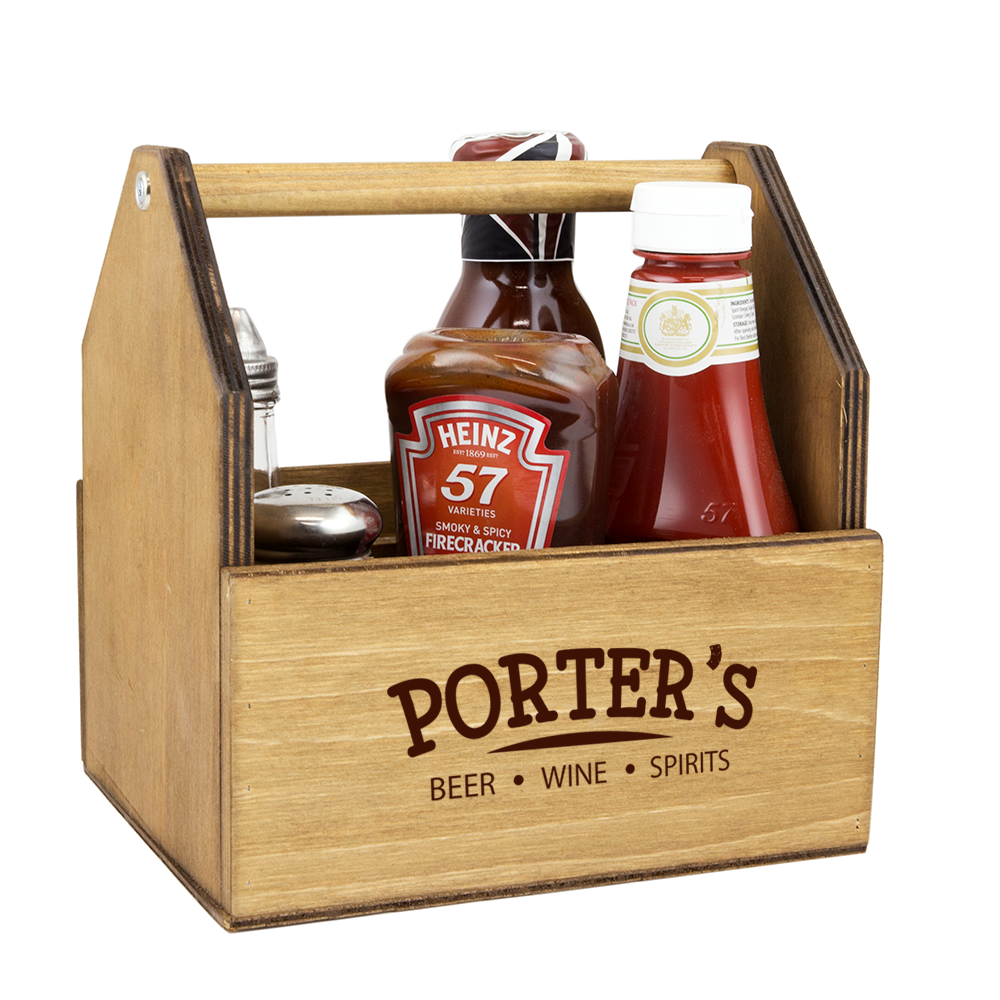 Image of Condiment Holder | Table Top Sauce, Spoon Holder ...