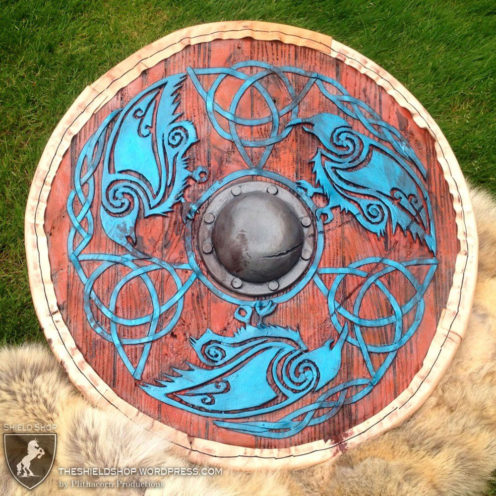 Viking Shield in Foam