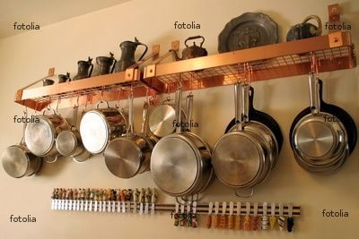 Mmm copper and organization by hanging