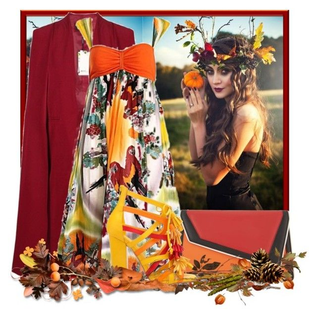 """""""Jean Paul Gaultier Sun Dress for Fall"""" by doozer ❤ liked on Polyvore featuring Innermost, Jean-Paul Gaultier, âme moi and Privileged"""