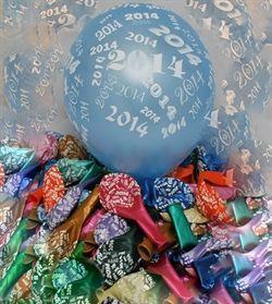 Nyår 2014 ballonger - 3,75 SEK