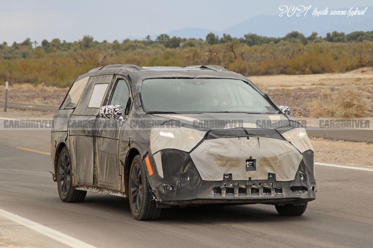 2021 Toyota Sienna Hybrid Redesign And Concept In 2020 Toyota Sienna Honda Odyssey Mini Van