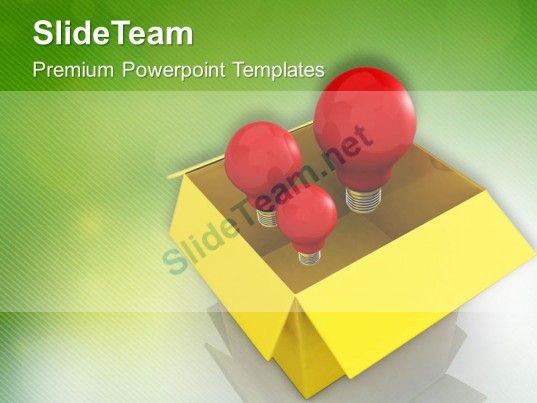 generating innovative ideas powerpoint templates ppt themes and