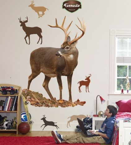 Large Deer Wall Decal Decals And Skins Jungle Sticker Stickers For Kids