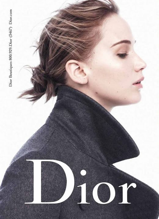 jennnifer lawrence news dior photos | Jennifer Lawrence goes for natural look in new Miss Dior ads - See the ...