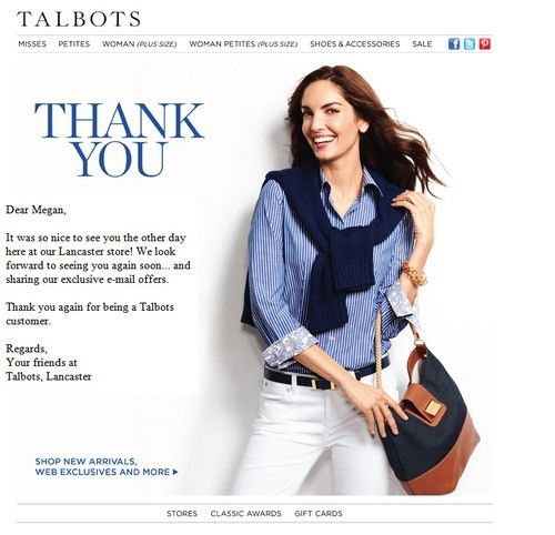 post-purchase thank you email Email Pinterest - thank you email