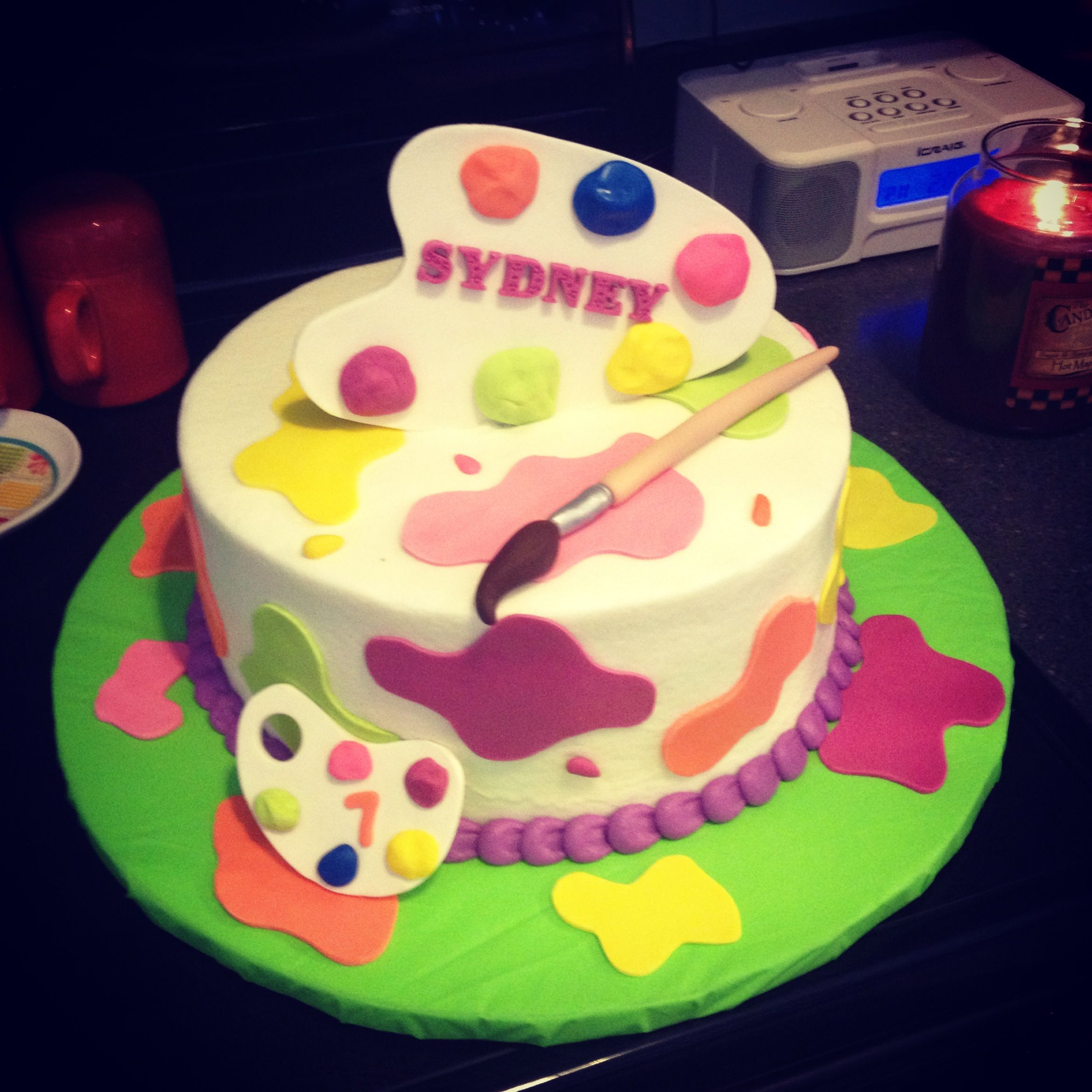 Art Cakes, Cake And