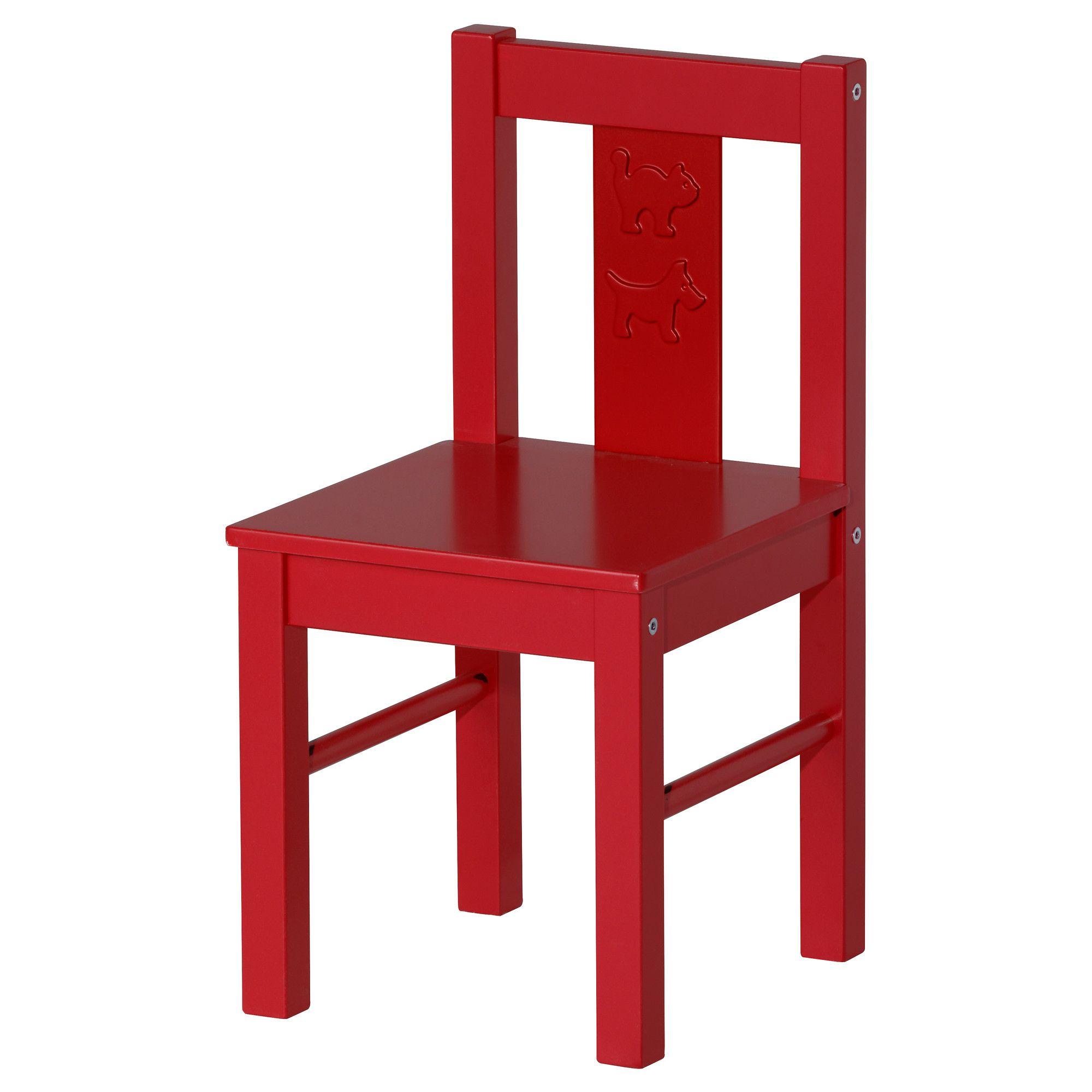 Kritter Children S Chair Red Ikea 12 99 Ideas Pinterest # Muebles Roles Mesillas
