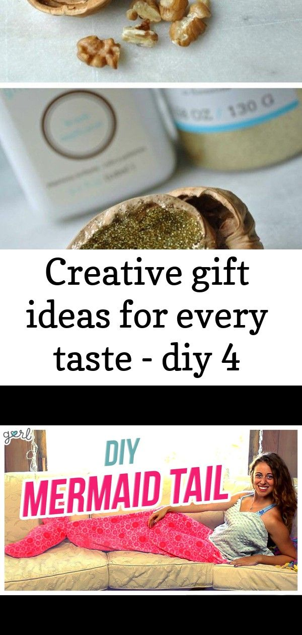 Creative gift ideas for every taste  diy 4 Creative gift ideas for every taste  diy DIY Mermaid Tail Blanket Do It DIY Mermaid Tail Blankets and beach things usually dont...