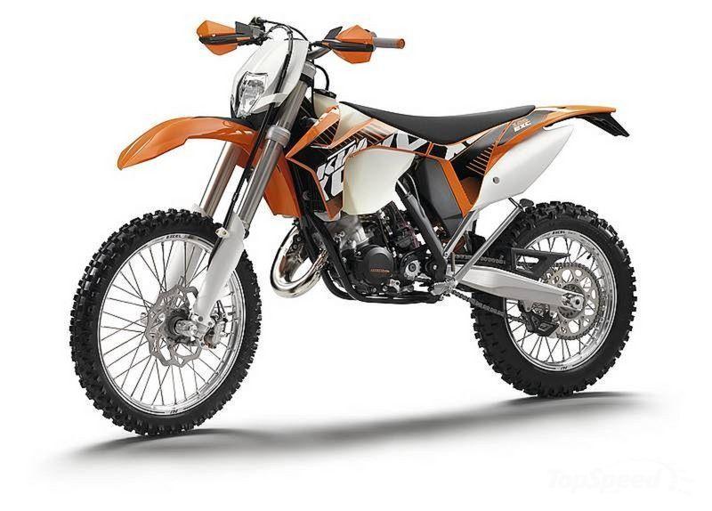 125 KTM 2 Stroke 2012